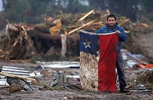 Chile, el espejo de Haití