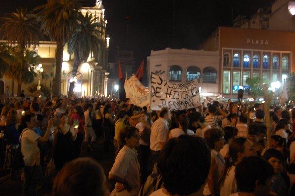 La oposición real se genera en la movilización y en las luchas