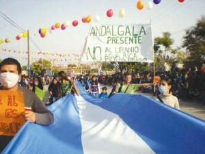 El gobierno de Catamarca militariza el territorio del pueblo de Andalgalá