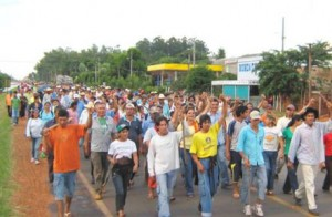 Chaco: se conquista en la calle y con la lucha