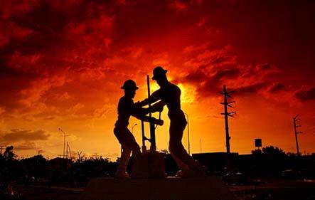 El trabajador petrolero