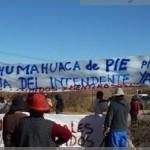 Trabajadores indígenas de Humahuaca realizan una pueblada
