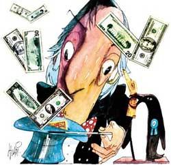 Kirchner en el Luna Park: un nuevo acto de corrupción