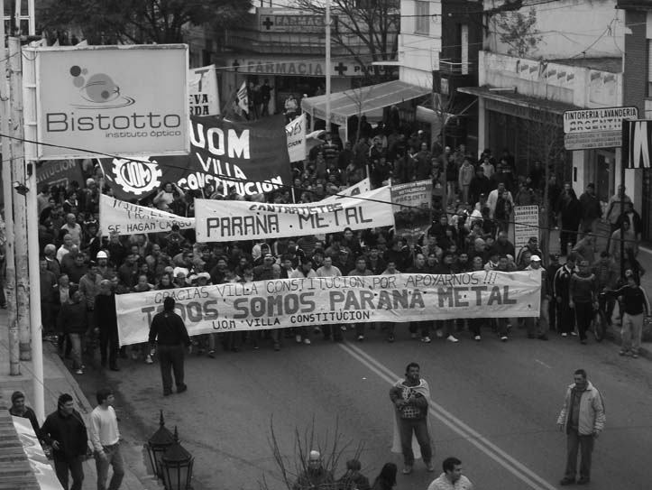 Paraná Metal resume la lucha de todos los trabajadores