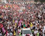 Más de dos millones de personas en las calles de Francia