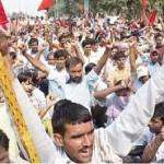 Bronca en los obreros de India