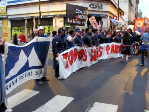 Paraná Metal: con la firmeza y la determinación de los trabajadores en lucha, la clase obrera ha dado un gran paso