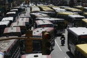 Paro en el transporte de colectivos