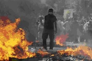 Grecia en llamas