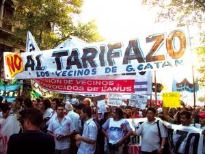Unidad, movilización y lucha contra el TARIFAZO