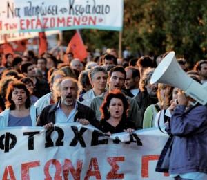 Grecia: Un muro obrero que no deja pasar el ajuste