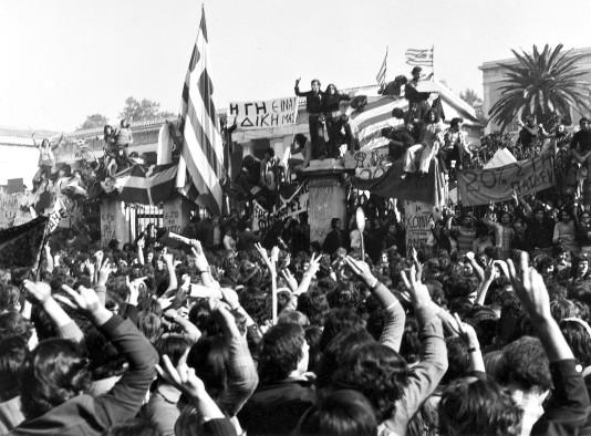 Rebelión y huelga general en Grecia