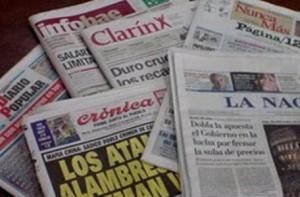 6-7-8 y Clarín entre otros, y la prensa revolucionaria