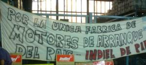 Trabajadores de Prestolite Indiel en lucha por las fuentes de trabajo