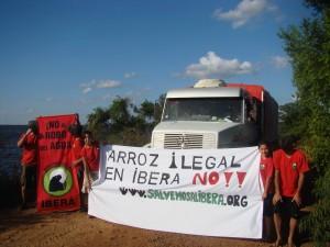 """Corrientes: """"Comando Carpincho"""" vuelve a detener camiones de la arrocera"""