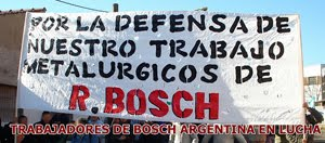 Trabajadores de RBI (ex Bosch) en pie de lucha