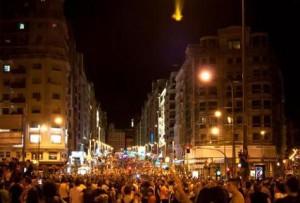 """España: la """"Marcha Negra"""" minera llegó a Madrid"""
