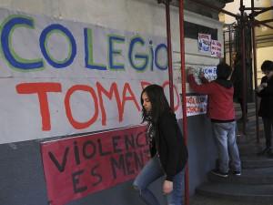 Toma de escuelas en la Ciudad de Buenos Aires