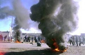 Caleta Olivia: nuevos enfrentamientos de los trabajadores