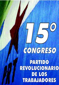 XVº Congreso del PRT