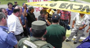 Villa Ocampo – Los trabajadores del Ingenio Azucarero Inaza van por todo