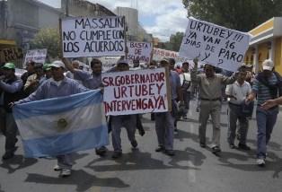 Salta: Triunfo obrero tras 19 días de toma de Massalín Particulares