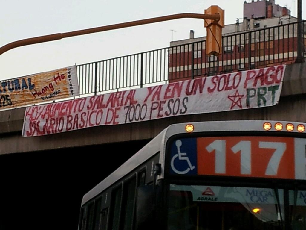 Los trabajadores elegimos la movilización y la lucha