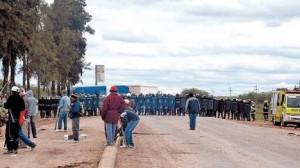 Comunicado sobre la represión en el Chaco