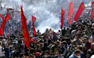Rebelión de masas en Turquía