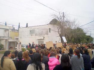 MASIVA MARCHA EN LA GALLARETA (SANTA FE): JUSTICIA POR RUTH