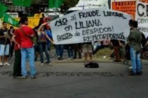 """Conflicto en Liliana: """"o hay trabajo para todos o no hay trabajo para nadie"""""""