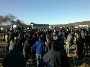 Inmediata libertad y absolución de los petroleros de Las Heras
