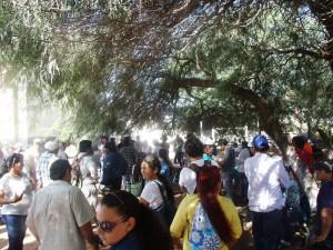Llega a las puertas de Resistencia la marcha del Llamamiento 17 de Agosto y los movimientos sociales del Chaco
