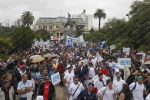 La masiva movilización de docentes de Buenos Aires y su relación con los obreros y la propuesta revolucionaria