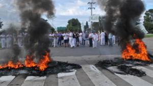 Córdoba. Continúa la lucha en Valeo: 13 días de toma, cortes y movilización