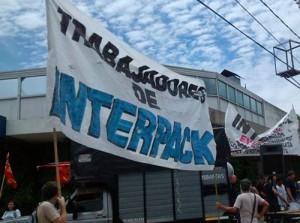 Trabajadores de Interpack en lucha