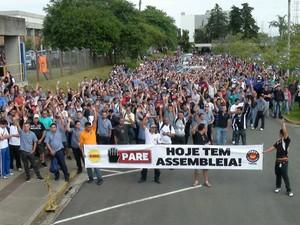 Volvo Brasil:  otro golpe a las políticas de reducción salarial y ajuste