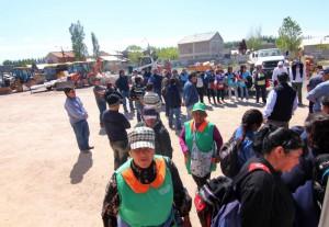 Represión en Centenario (Neuquen)