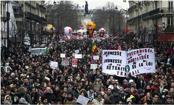 Huelga general en Francia contra la reforma laboral