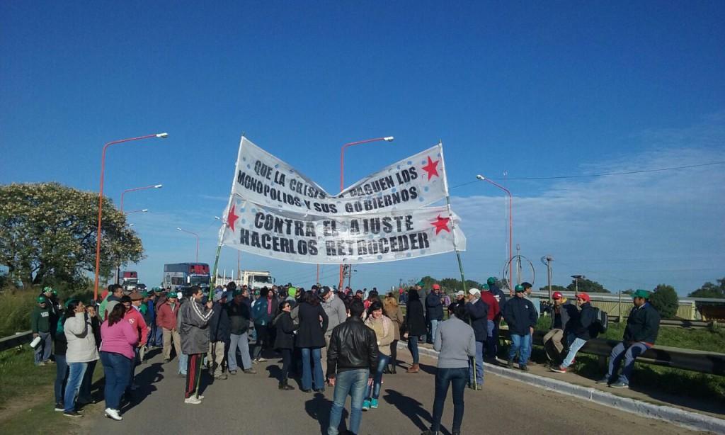 Una movilización que expresa el verdadero enfrentamiento político