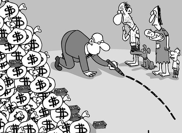Corrupción y pobreza: dos males inherentes al capitalismo