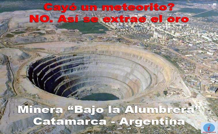 """Minera Alumbrera y sus """"tierras de sacrificio"""""""
