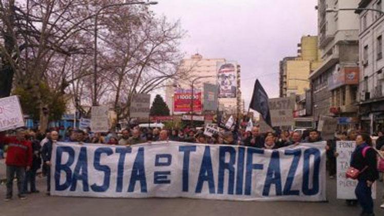 La rebelión contra el tarifazo es unánime