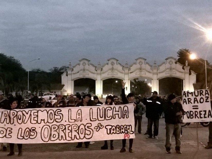 El Tabacal: 65 días de confrontación política