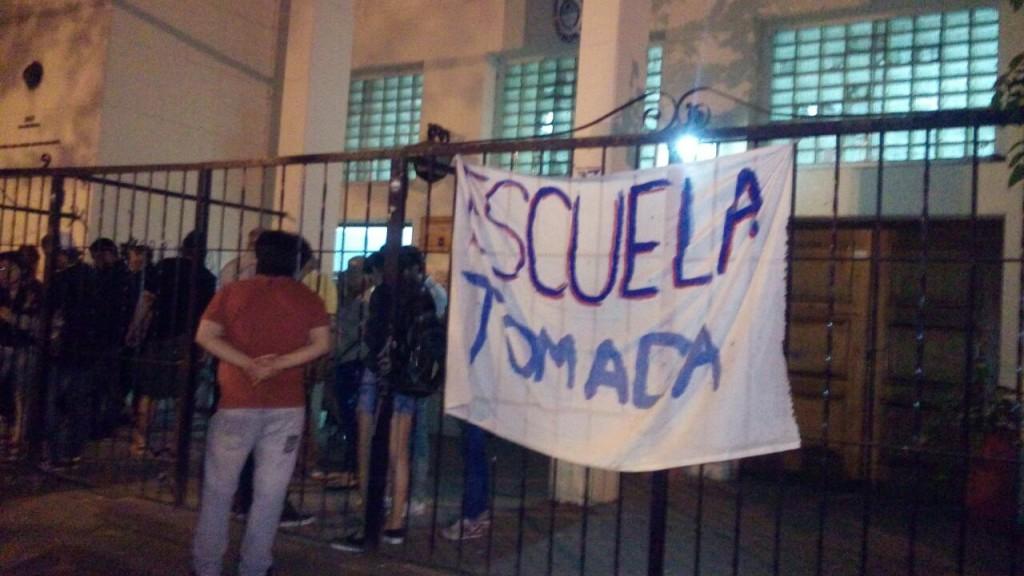 Rebelión estudiantil contra las políticas del gobierno