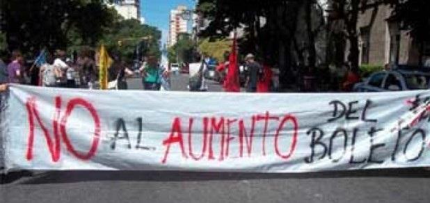 Urgente. Mar del Plata: represión para aumentar el boleto