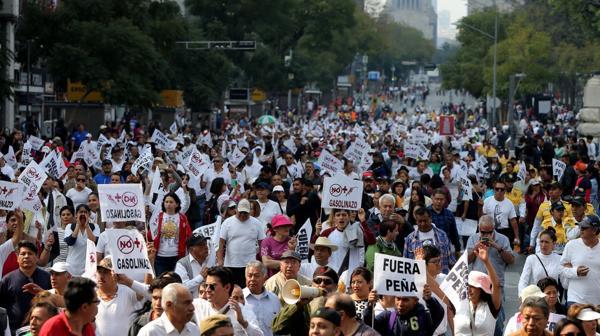 """México: """"el Gasolinazo no pasará"""""""