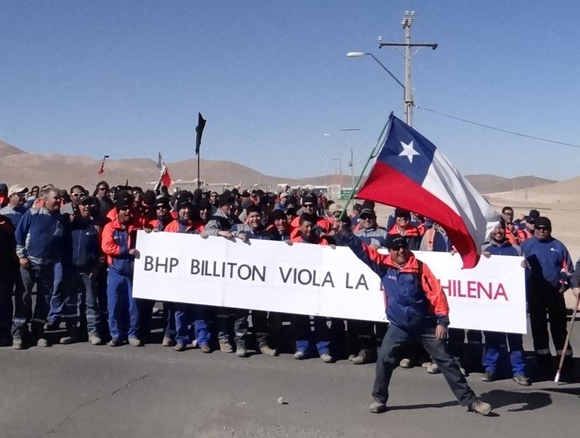 Minera La Escondida-Chile: un incendio que no puede ser contenido