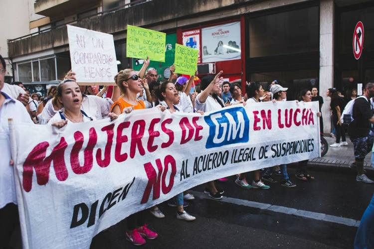 """Violencia contra la mujer: no hay movilizaciones """"pequeñas"""""""