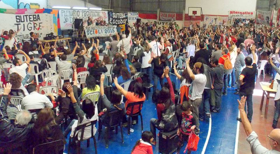 Grave denuncia: infiltración policial en asamblea de SUTEBA Tigre